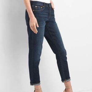 Gap Best Girlfriend Dark Wash Jeans Sz 32